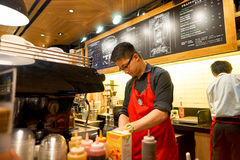 Starbucks coffee shop Royalty Free Stock Photography