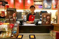 Starbucks coffee shop Stock Photo