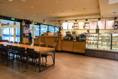Starbucks coffee shop Royalty Free Stock Photography