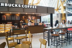 Starbucks coffee shop Royalty Free Stock Images