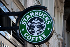 Starbucks Coffee Royalty Free Stock Photography