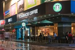 Starbucks Coffee - Zhuhai China Stock Image