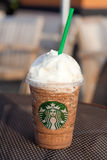 Starbucks Granda Java Chip Frappuccino Royalty Free Stock Photography