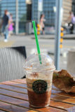 Starbucks Granda Java Chip Frappuccino Royalty Free Stock Photo
