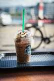 Starbucks Granda Java Chip Frappuccino Stock Image