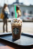 Starbucks Granda Java Chip Frappuccino Royalty Free Stock Image