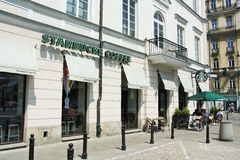 Starbucks-Kaffeestube Stockfotos