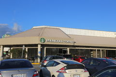 Starbucks-Koffie in Coquitlam Canada Stock Foto's
