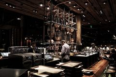 Starbucks Reserved Roastery stock photography