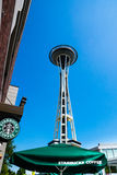 Starbucks in Seattle Stock Images