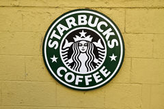 Starbucks Sign Royalty Free Stock Images