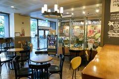 Starbucks sklep z kawą Obrazy Royalty Free
