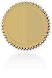 starburst аттестации Стоковое фото RF