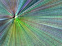 Starburst. Bright abstract rendered colorful starburst royalty free illustration