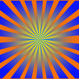 Starburst. A starburst or very colorful background Stock Illustration