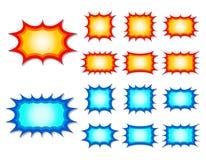 Starburst иллюстрация вектора