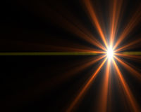 Starburst. Bright abstract glowing light starburst background design Stock Photography