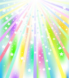 Starburst. Illustration of colorful star burst abstract background Royalty Free Stock Photography