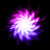 Starburst abstrato Imagens de Stock