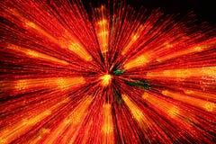 Starburst anaranjado Fotos de archivo libres de regalías