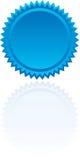 Starburst azul Imagens de Stock Royalty Free