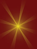 Starburst background. Brown starburst background, vector illustration stock illustration
