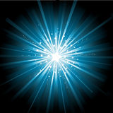 Starburst background Stock Image