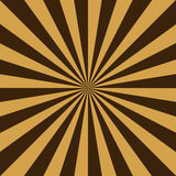 Starburst background. With brown stripes Stock Photos