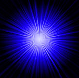 Starburst background, sunbeams Stock Photography