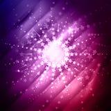 Starburst bakgrund Arkivbilder