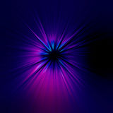 Starburst blue abstract background Royalty Free Stock Photography