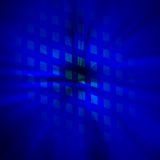 Starburst blue abstract background. For your webdesign Stock Image
