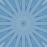Starburst Cool Lines Background. Background of starburst design in blue hues for use in website wallpaper design, presentation, desktop, invitation or brochure royalty free illustration