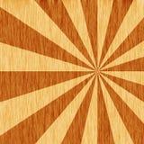 Starburst della venatura del legno Immagini Stock Libere da Diritti