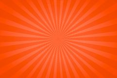 Orange bright tones in a Fun Starburst Stock Image