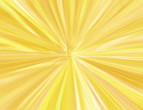 Starburst do ouro Imagem de Stock Royalty Free