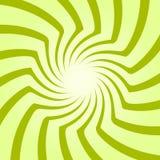 Starburst en spirale, ensemble de fond de rayon de soleil Lignes, rayures avec la pirouette, effet tournant de déformation Images stock