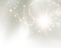 Starburst - gnistrandebakgrund Royaltyfri Bild