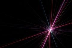 Starburst Light Trails Fractal stock image