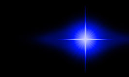 Starburst no espaço Imagem de Stock