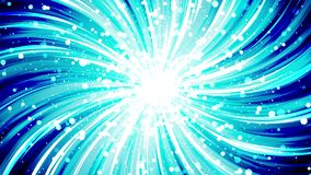 Starburst rays in space. Cartoon beam loop animation. Future technology concept background. Explosion star with lines. vector illustration