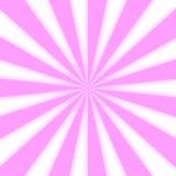Starburst rosa claro Foto de archivo libre de regalías