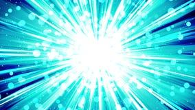 Starburst strålar i utrymme Animering för tecknad filmstrålögla Framtida teknologibegreppsbakgrund Explosionstjärna med linjer stock illustrationer