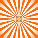 Starburst, sunburst background. Circular monochrome pattern with. Radial lines. - Royalty free vector illustration Royalty Free Stock Images