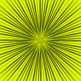 Starburst, sunburst element. Radial, radiating lines intersect a. T center. Abstract monochrome illustration - Royalty free vector illustration Royalty Free Stock Photography