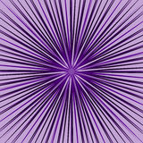 Starburst, sunburst element. Radial, radiating lines intersect a. T center. Abstract monochrome illustration - Royalty free vector illustration Stock Photo