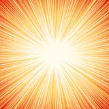 Starburst, sunburst, rays of light element. Circular, radial lin vector illustration