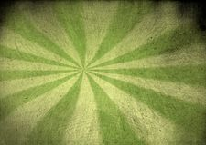 Starburst verde d'annata della tela Fotografie Stock Libere da Diritti