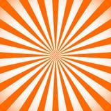 Starburst, zonnestraalachtergrond Cirkel zwart-wit patroon met stock illustratie