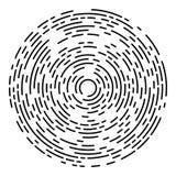 Starburst of Zonnestraalontwerpelement Stock Afbeelding